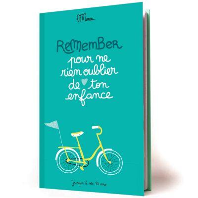 Livre de souvenirs Pour ne rien oublier de ton enfance  par Minus
