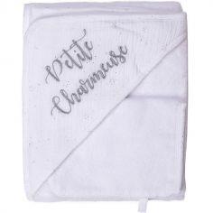 Cape de bain + gant Petite charmeuse (70 x 70 cm)