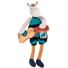 Mini cheval hochet Les Zig et Zag (23 cm)