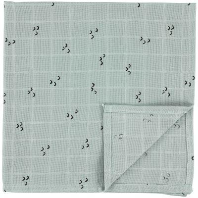 Lot de 2 langes en mousseline de coton Bliss Mountains (110 x 110 cm)  par Trixie