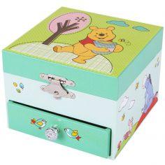 Boîte à musique cube Winnie l'ourson