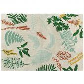 Tapis lavable Botanic Plants sur fond écru (140 x 200 cm) - Lorena Canals