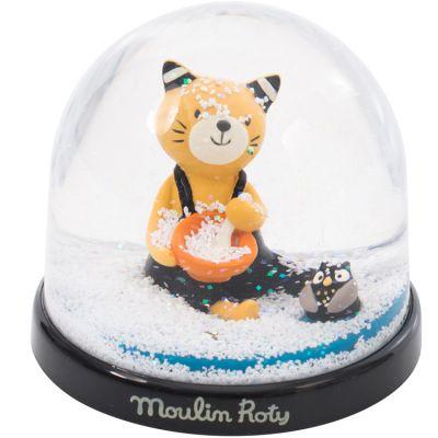 Boule à neige Les Moustaches  par Moulin Roty