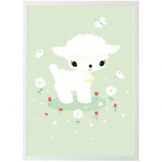 Affiche agneau (50 x 70 cm)
