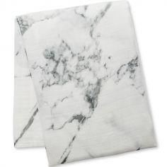 Maxi lange bambou marbre (120 x 120 cm)