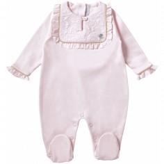 Pyjama léger Délicatesse rose (6 mois : 67 cm)