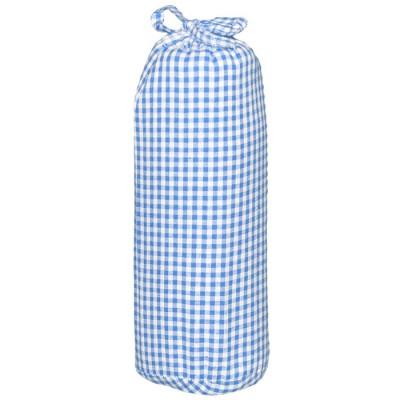 Drap housse vichy bleu clair 40 x 80 cm taftan for Drap housse 40 x 90