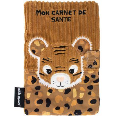 Protège carnet de santé Speculos le tigre  par Les Déglingos
