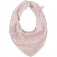 Bavoir bandana Pink waves