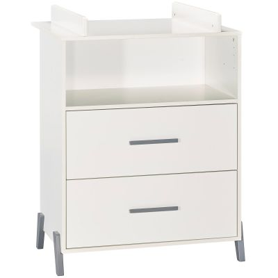 Commode à langer Joy gris  par Baby Price