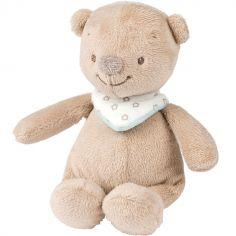 Mini peluche Basile l'ours (17 cm)