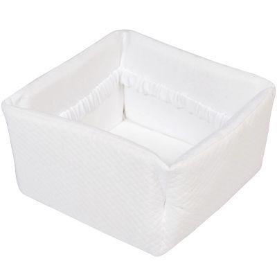 Panier de toilette Diamond White (25 x 25 cm) Les Rêves d'Anaïs