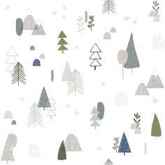 Papier peint intissé In the woods forêt (10 m)