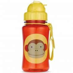 Gourde à paille Zoo singe rouge
