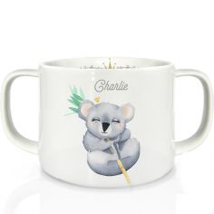 Tasse en porcelaine Koala (personnalisable)