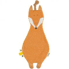 Doudou plat velours renard Mr. Fox