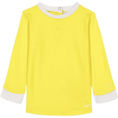 Tee-shirt manches longues anti-UV Pop yellow (3-4 ans)