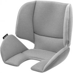 Coussin réversible tissu Mesh pour siège auto Pearl gris
