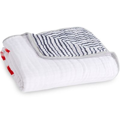 Couverture de rêve Dream Blanket classique Dream ride (120 x 120 cm)  par aden + anais
