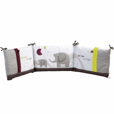 tour de lit india pour les lits 120 x 60 et 140 x 70 cm. Black Bedroom Furniture Sets. Home Design Ideas