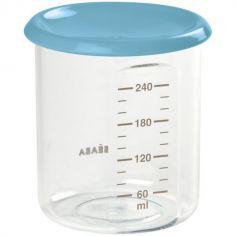 Pot de conservation Maxi portion bleu (240 ml)