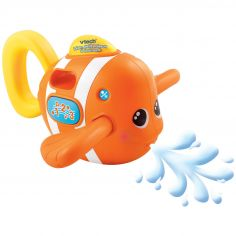 Jouet d'éveil de bain musical Léon, p'tit poisson à chansons