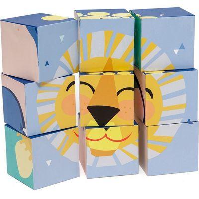 Puzzle cubes Oh sunshiny day (9 cubes)  par Petit Monkey