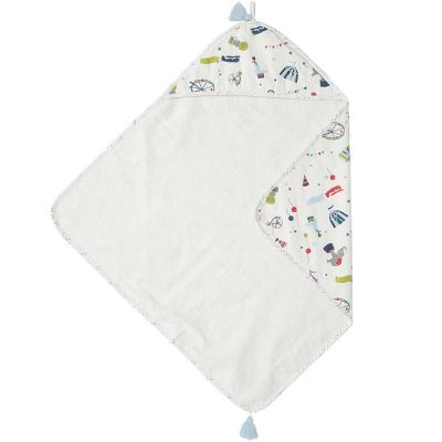 Cape de bain cirque Big Top (76 x 76 cm)  par Pehr
