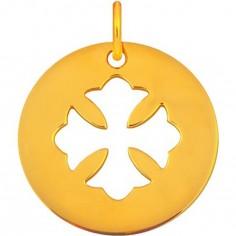 Médaille Signes Croix Copte 16 mm (or jaune 750°)