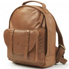 Petit sac à dos Chestnut Leather en cuir