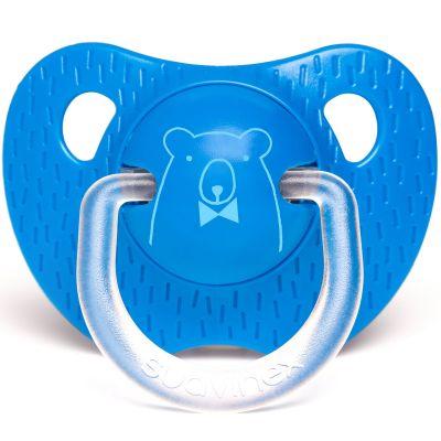Sucette physiologique Ours bleu (6-18 mois)  par Suavinex