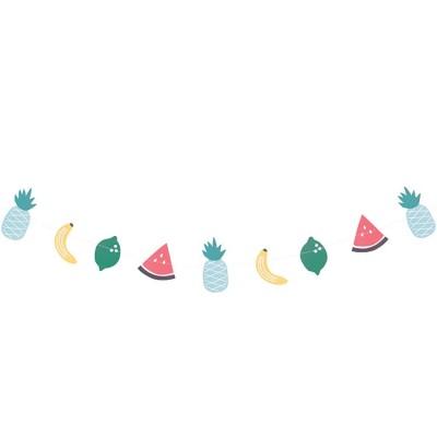 Guirlande en papier fruits Tutti Frutti My Little Day