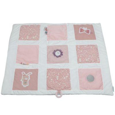 Tapis de jeu lapin Adventure pink (85 x 100 cm)  par Little Dutch
