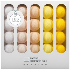 Coffret guirlande lumineuse à LED clipsable Premium Billie