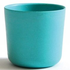 Gobelet en bambou Bambino turquoise lagon (250 ml)