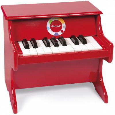 Piano rouge Confetti  par Janod