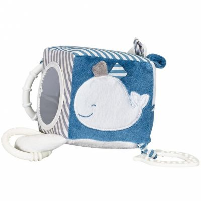 Cube d'activités Blue baleine  par Sauthon