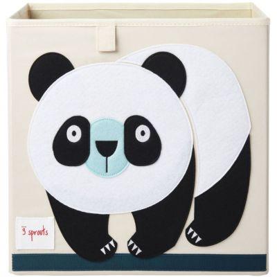Cube de rangement Panda (33,5 x 33,5 cm)  par 3 sprouts