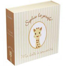 Coffret souvenirs phosphorescent Sophie la Girafe  par Trousselier