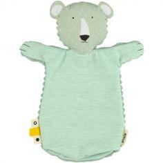 Marionnette à main ours Mr. Polar Bear