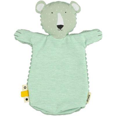 Marionnette à main ours Mr. Polar Bear  par Trixie