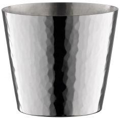 Timbale Martelé en métal argenté personnalisable (6,3 cm)