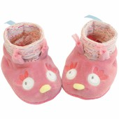 Chaussons chouette Mademoiselle et Ribambelle (0-6 mois) - Moulin Roty