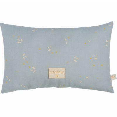 Coussin Laurel Willow Soft Blue (22 x 35 cm) Nobodinoz