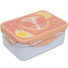 Lunch box papillon agrume