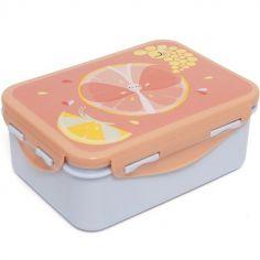 Lunch box papillon agrume