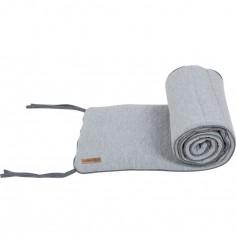 Tour de lit Grey melange (pour les lits 60 x 120 cm)