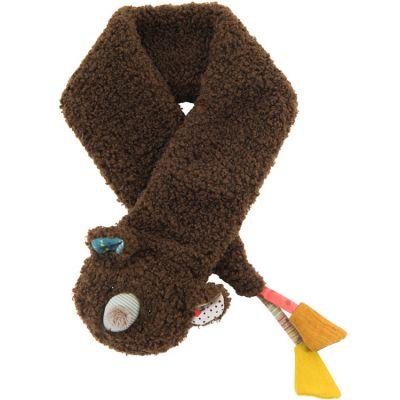 Écharpe fausse fourrure ours Les Jolis trop beaux (6 mois et +)  par Moulin Roty