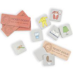 Magnets pour tableau éducatif Tout-doux liste Pour un dodo apaisé