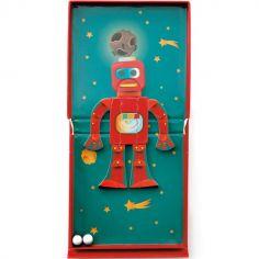Puzzle magnétique 2 en 1 Robot dans l'espace